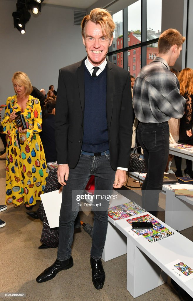 Ken Downing attends the Libertine front row during New York Fashion Week: The Shows at Gallery II at Spring Studios on September 10, 2018 in New York City.