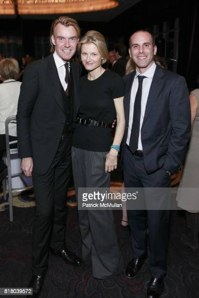 Ken Downing Caroline Brown and Andrew Arrick attend NEIMAN MARCUS And Friends Honor BURT TANSKY at Mandarin Oriental Hotel on September 15th 2010 in...