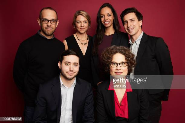 Ken Druckerman Brian M Rosenthal Singeli Agnew Caitlin Dickerson Sabrina Tavernise and Sam Dolnick of FX's 'The Weekly' pose for a portrait during...
