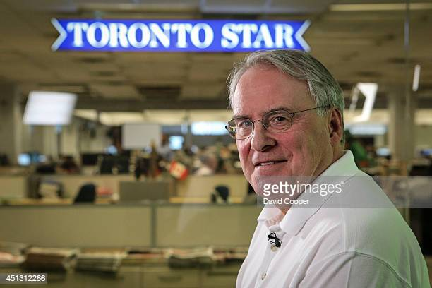 TORONTO ON JUNE 26 Ken Dryden is the guest editor for the Canada Day edition of the Toronto Star June 26 2014