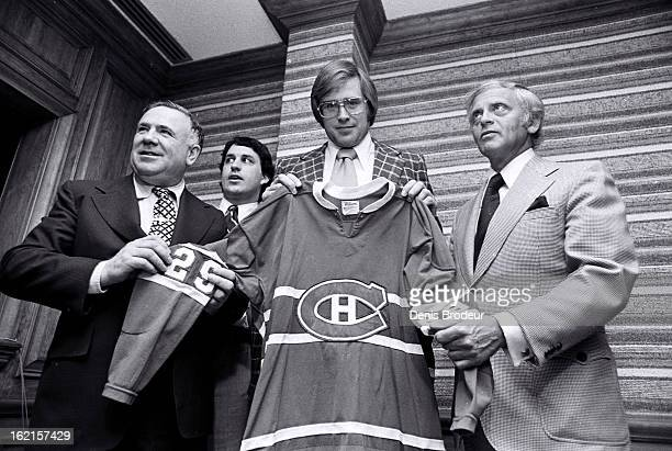 Ken Dryden of the Montreal Canadiens poses for a photo circa 1970 in Montreal Quebec Canada