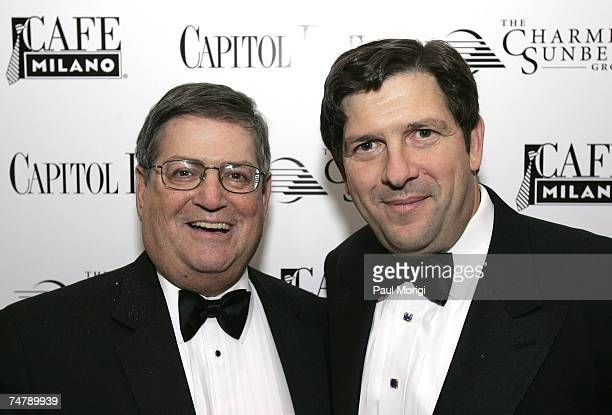 Ken Duberstein and Charlie Merinoff at Capitol File Magazine's White House Correspondents Dinner after-party at Cafe Milano during the Capitol File...