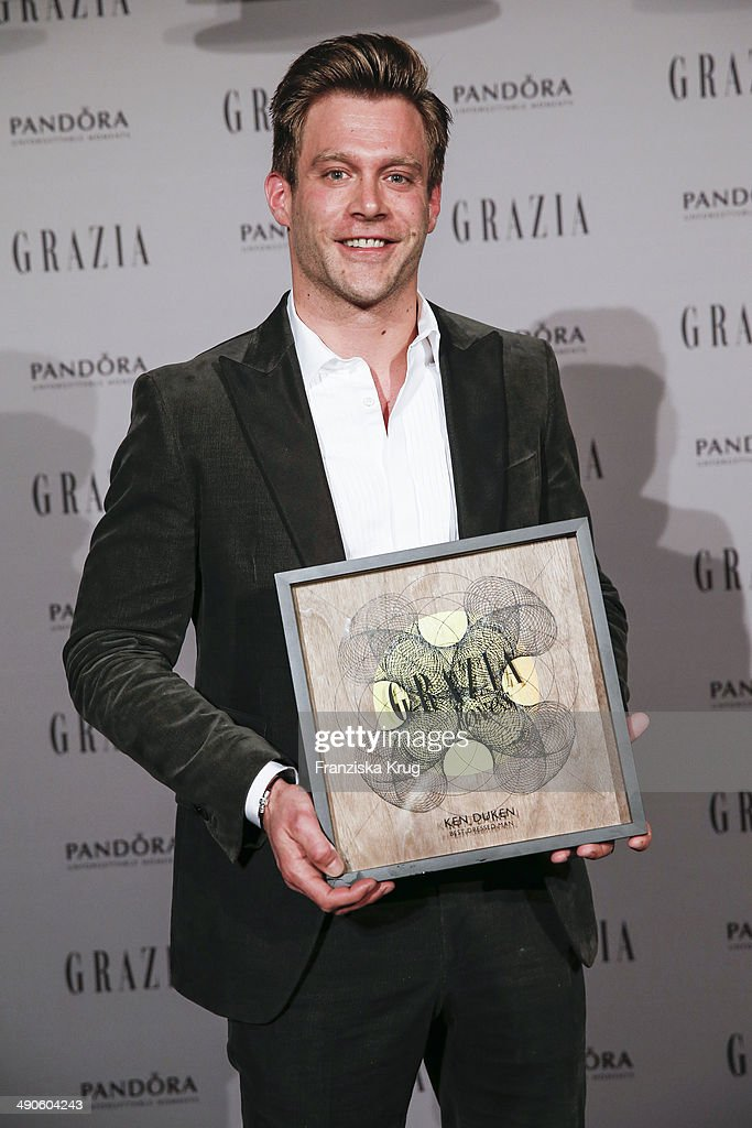 Ken Duken attends the Pandora At Grazia Best Dressed Award at Soho House on May 14, 2014 in Berlin, Germany.