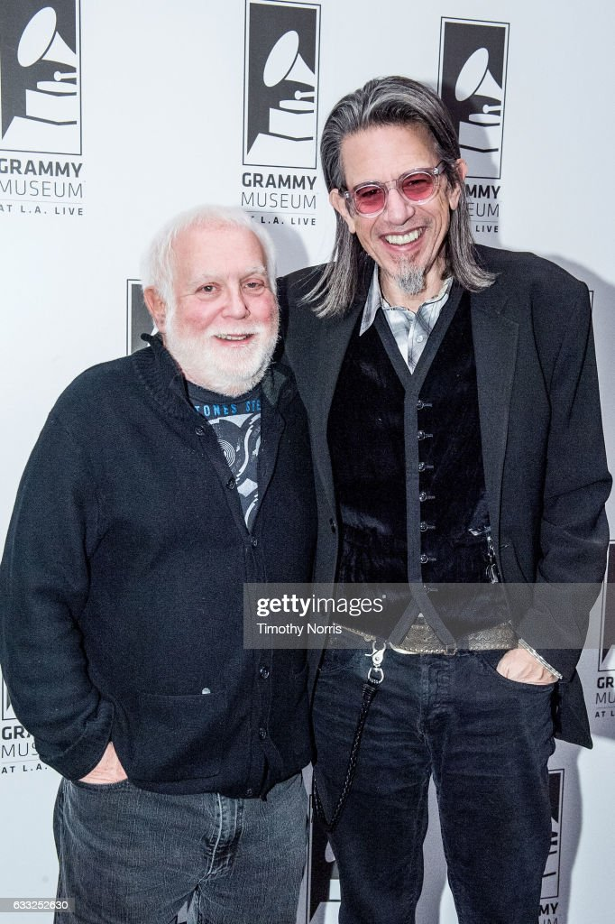 Ken Ehrlich and Scott Goldman attend Icons of the Music Industy: Ken Ehrlich at The GRAMMY Museum on January 31, 2017 in Los Angeles, California.