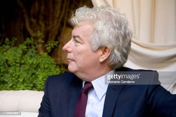 Ken Follet British writer novelist portrait Milan Italy 19th September 2007