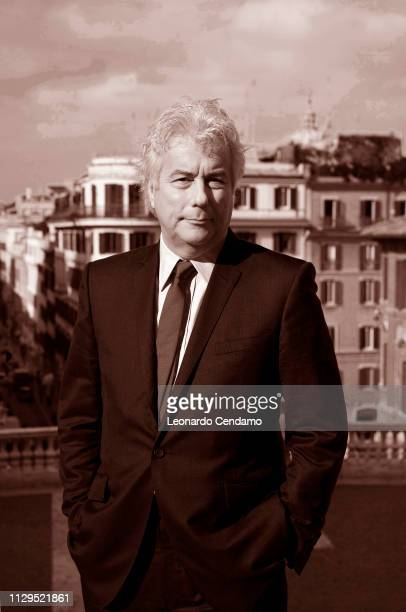 Ken Follett English writer Milan Italy April 2007