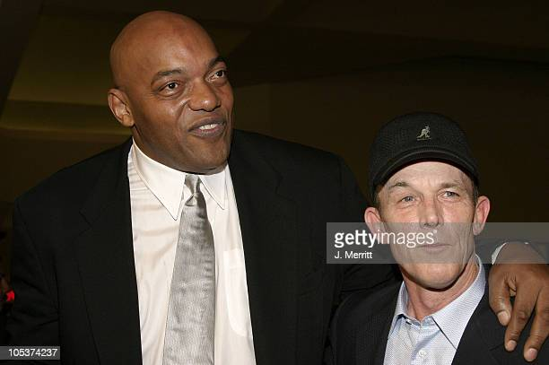 Ken Foree and Scott H Reiniger during 'Dawn of The Dead' Los Angeles Premiere at Cineplex Beverly Center Theatres in Beverly Hills California United...