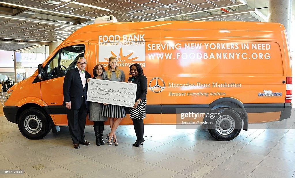 Ken Fox CDO Food Bank For New York City Alyssa Herman Model Jessica Hart  And CEO