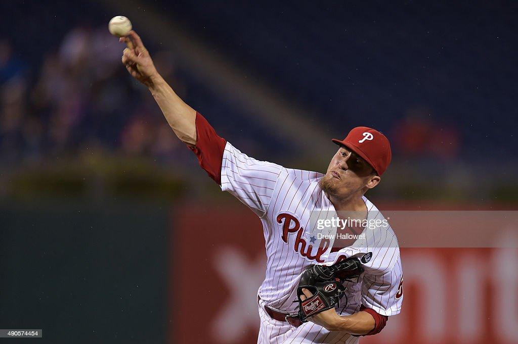 New York Mets v Philadelphia Phillies : Fotografía de noticias