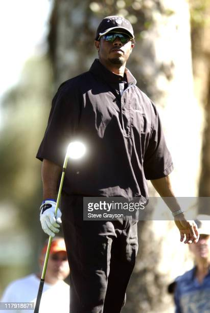 Ken Griffey Jr during 44th Bob Hope Chrysler Classic Round One at Indian Wells Country Club in Indian Wells California United States