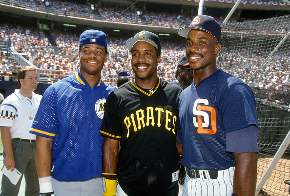 1992 Major League Baseball All-Star Game : News Photo