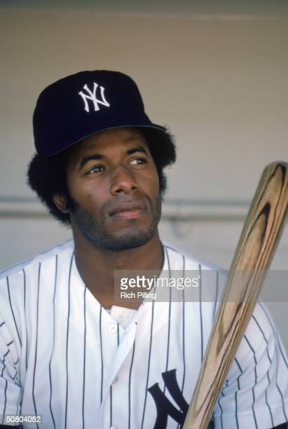 Ken Griffey of the New York Yankees poses for a 1982 season portrait
