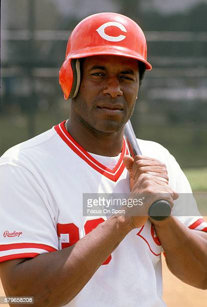 Ken Griffey Sr of the Cincinnati Reds poses for this portrait during Major League Baseball spring training circa 1988 in Plant City Florida Griffey...