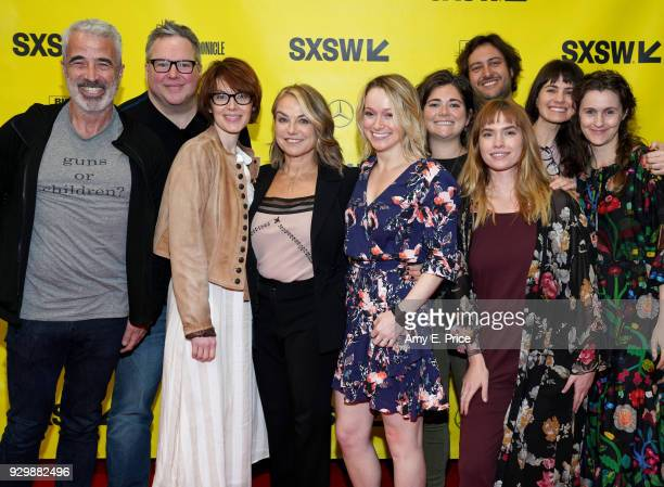 Ken Hertz Eric Nuzum Jesse Baker Esther Perel Courtney Hamilton Logan Vry Hannah Hughes Lindsay Ratowsky Georgia Clark and Daniel Barcay attend SXSW...