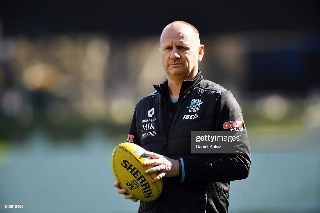 Port Adelaide Power Training Session : News Photo