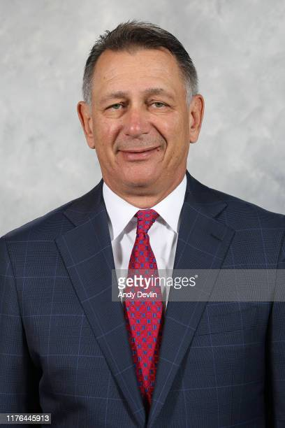 Ken Holland General Manager and President of Hockey Operations of the Edmonton Oilers poses for his official headshot for the 20192020 season on May...