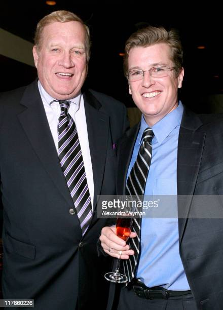 Ken Howard and Brendan Monaghan during Hennessy Higher Marques Dinner Hosted by Neal McDonough at Bridge Restaurant in Los Angeles California United...