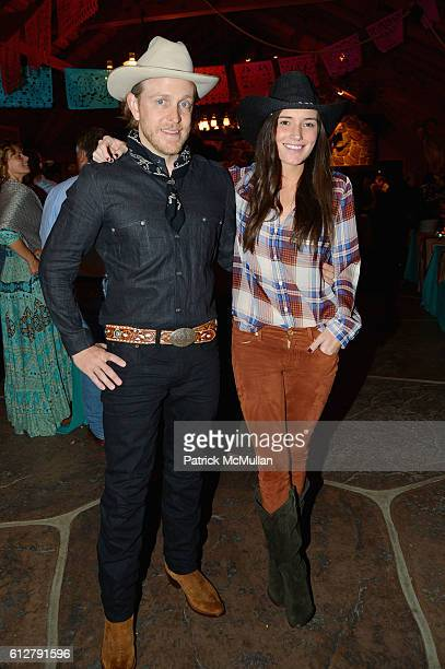 Ken Howery and Kick Kennedy attend Hearst Castle Preservation Foundation Annual Benefit Weekend 2016 Hearst Ranch Patron Cowboy Cookout at Hearst...