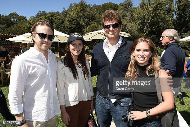 Ken Howery Kick Kennedy Max Loeb and Ashley Bush attend Hearst Castle Preservation Foundation Annual Benefit Weekend 2016 Luncheon at Piedra Blanca...