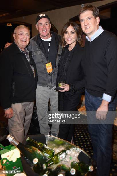 Ken Jenkins John C McGinley Christa Miller and Bill Lawrence attend the Heineken Green Room during Vulture Festival presented by ATT at Hollywood...