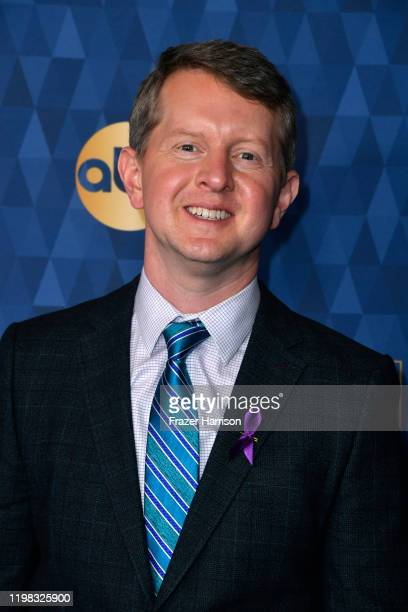 Ken Jennings attends the ABC Television's Winter Press Tour 2020at The Langham Huntington Pasadena on January 08 2020 in Pasadena California