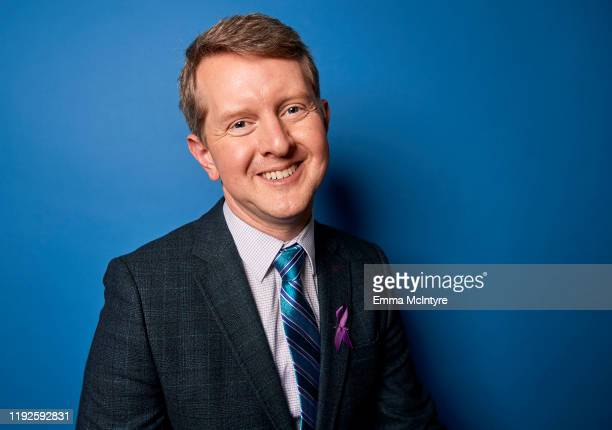 Ken Jennings of ABC's Jeopardy poses for a portrait during the 2020 Winter TCA at The Langham Huntington Pasadena on January 08 2020 in Pasadena...