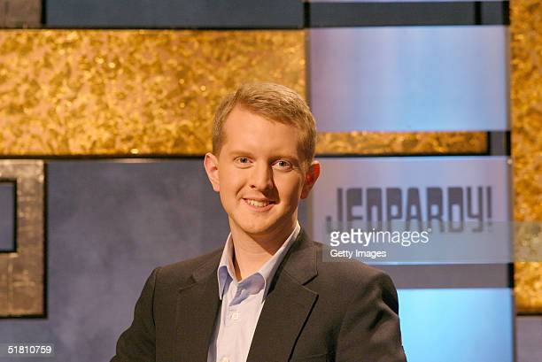 Ken Jennings poses in this undated handout photo Jennings finally lost on Jeopardy after becoming the biggest money winner in TV game show history...