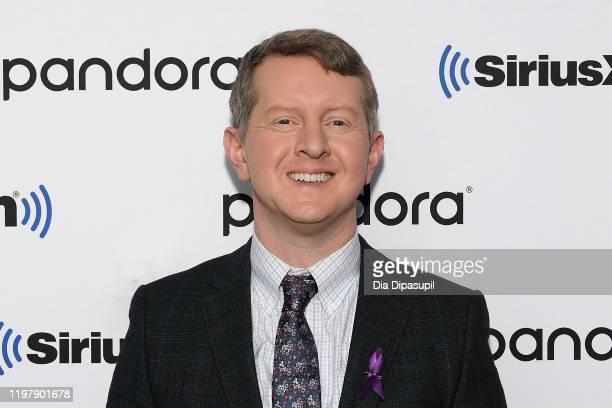 Ken Jennings visits SiriusXM Studios on January 06 2020 in New York City