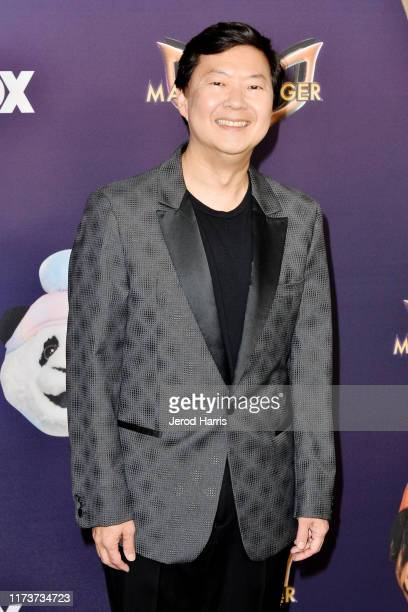 Ken Jeong arrives at the Premiere Of FOX's 'The Masked Singer' Season 2 at The Bazaar at the SLS Hotel Beverly Hills on September 10 2019 in Los...