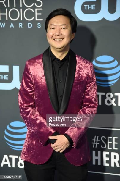 Ken Jeong at The 24th Annual Critics' Choice Awards at Barker Hangar on January 13 2019 in Santa Monica California