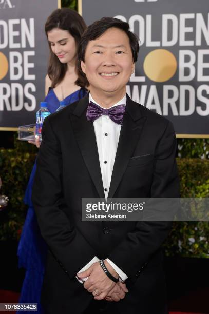 Ken Jeong attends FIJI Water at the 76th Annual Golden Globe Awards on January 6 2019 at the Beverly Hilton in Los Angeles California
