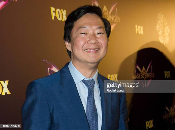 Ken Jeong attends Fox's 'The Masked Singer' Premiere Karaoke Event at The Peppermint Club on December 13 2018 in Los Angeles California