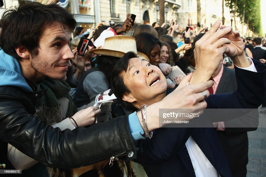 Ken Jeong attends 'Hangover - Very Bad Trip III' ('The Hangover Part III') Paris premiere at Cinema UGC Normandie on May 27, 2013 in Paris, France.