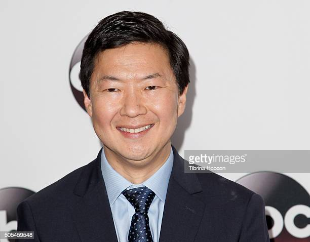 Ken Jeong attends the Disney/ABC 2016 Winter TCA Tour at Langham Hotel on January 9 2016 in Pasadena California