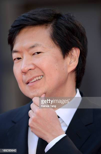 Ken Jeong attends The Hangover III UK film premiere at The Empire Cinema on May 22 2013 in London England