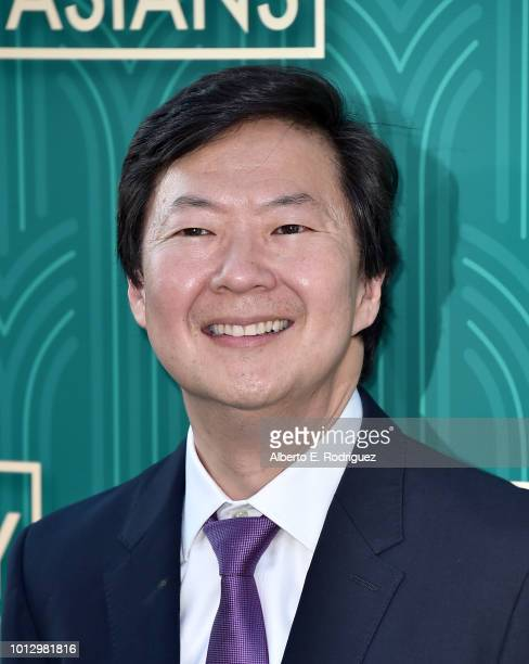 Ken Jeong attends the premiere of Warner Bros Pictures' Crazy Rich Asiaans at TCL Chinese Theatre IMAX on August 7 2018 in Hollywood California