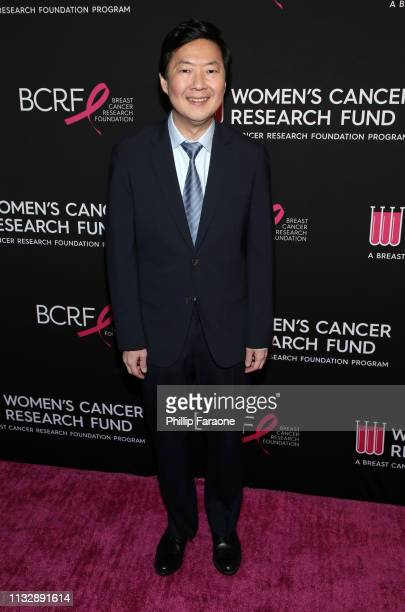 Ken Jeong attends The Women's Cancer Research Fund's An Unforgettable Evening Benefit Gala at the Beverly Wilshire Four Seasons Hotel on February 28...