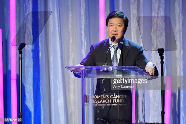 Ken Jeong attends The Women's Cancer Research Fund's An Unforgettable Evening Benefit at the Beverly Wilshire Four Seasons Hotel on February 28 2019...