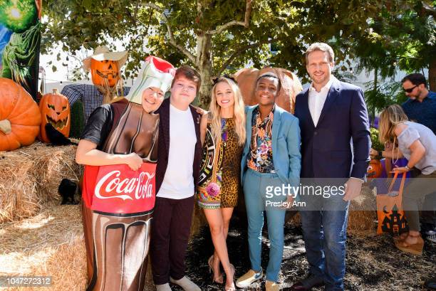 Ken Jeong Jeremy Ray Taylor Madison Iseman Caleel Harris and Ari Sandel attend Columbia Pictures and Sony Pictures Animation's Goosebumps 2 Haunted...