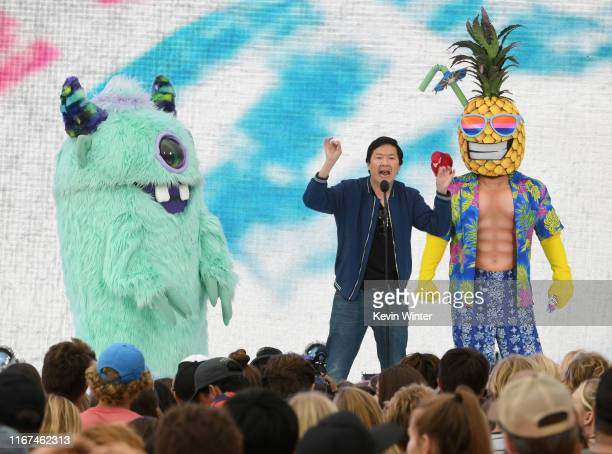 Ken Jeong speaks onstage during FOX's Teen Choice Awards 2019 on August 11 2019 in Hermosa Beach California