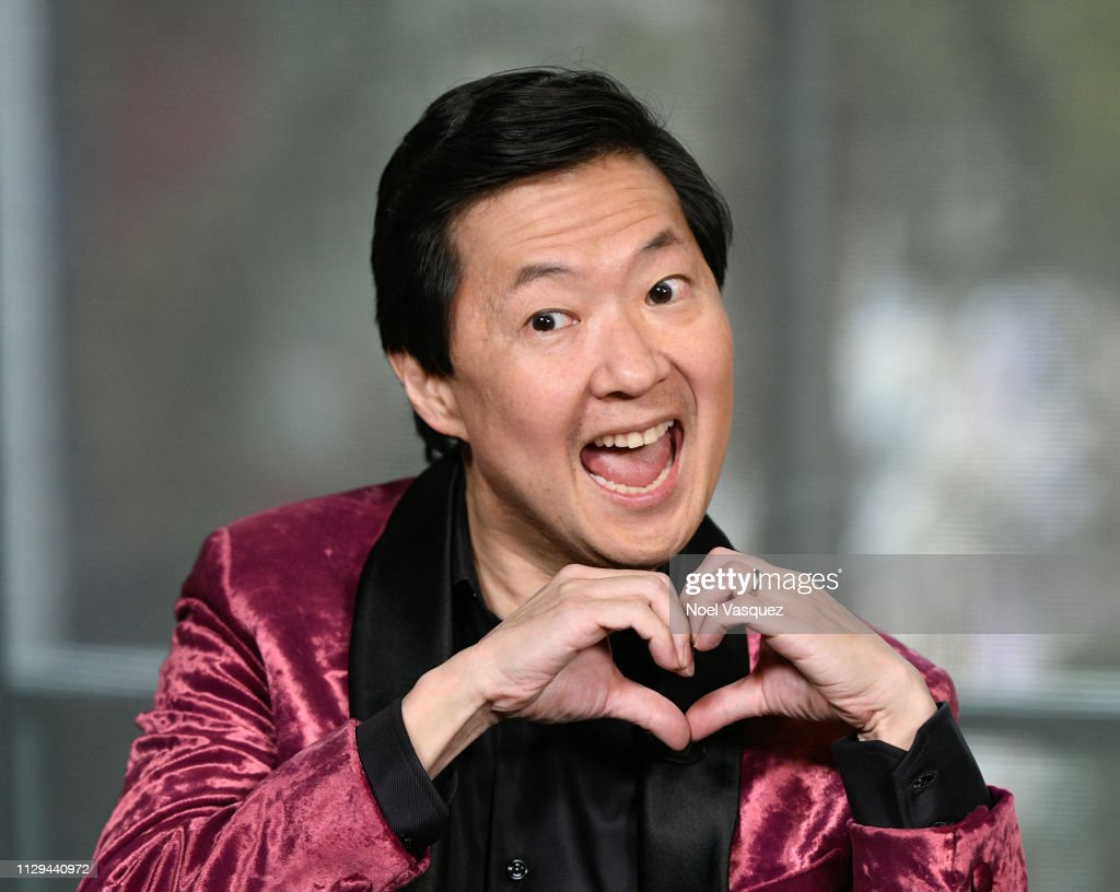 Ken Jeong Visits Extra : News Photo