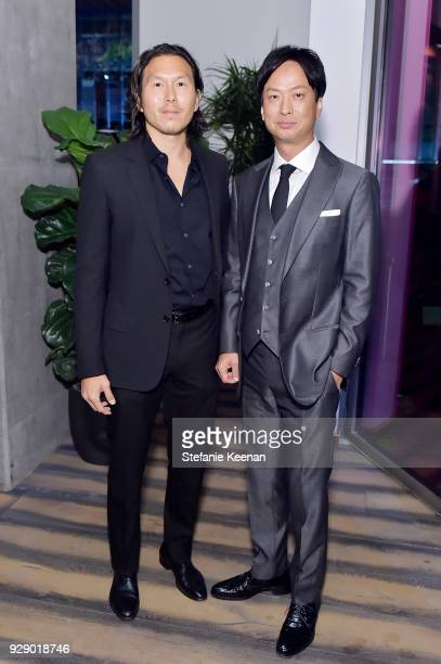 Ken Kao and Kippei Shiina attend a special screening of Netflix's 'The Outsider' on March 7 2018 in Los Angeles California