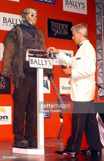 Ken Kirzinger as Jason Voorhees and Emcee Michael Buffer