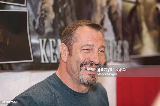 Ken Kirzinger attends the Motor City Comic Con at Suburban Collection Showplace on May 15 2015 in Novi Michigan