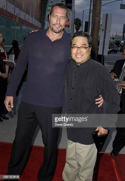 Ken Kirzinger Director Ronny Yu during Los Angeles Premiere for Freddy Vs Jason Arrivals at Arclight Theatre in Hollywood California United States