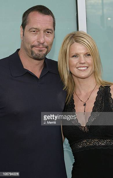 Ken Kirzinger who plays Jason and guest during Freddy Vs Jason Hollywood Premiere at Arclight Cinemas in Hollywood California United States