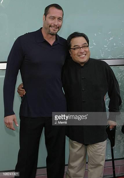 Ken Kirzinger who plays Jason and Ronny Yu director
