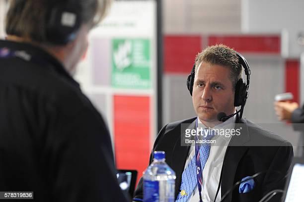 Ken Klukowski Senior Legal Editor at Breitbart talks with Stephen K Bannon during an episode of Brietbart News Daily on SiriusXM Patriot at Quicken...