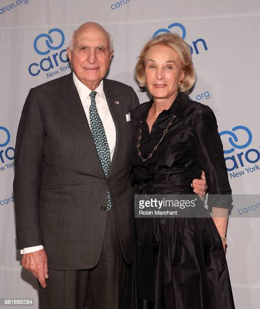 Ken Langone and Elaine Langone attend 23rd Annual Caron New York City Gala at Cipriani 42nd Street on May 10 2017 in New York City