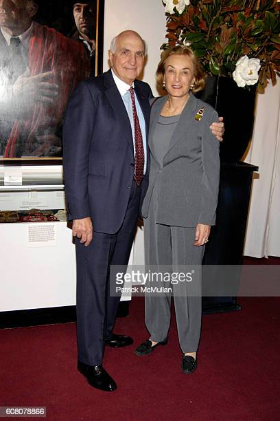 Ken Langone and Elaine Langone attend Antiques Fine Art at the Armory at The Seventh Regiment Armory on December 6 2006 in New York City